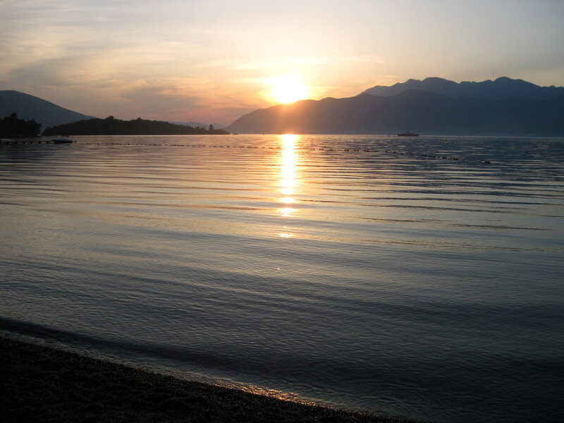 пляж Колардово напротив Тивата