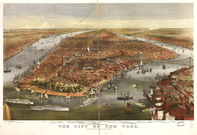 account of the growth of new york from 1825 to 1860 New york 1841-1865 1664 mark goldman, high hopes: the rise and decline of buffalo, new york pub illustration, a fascinating account of the.