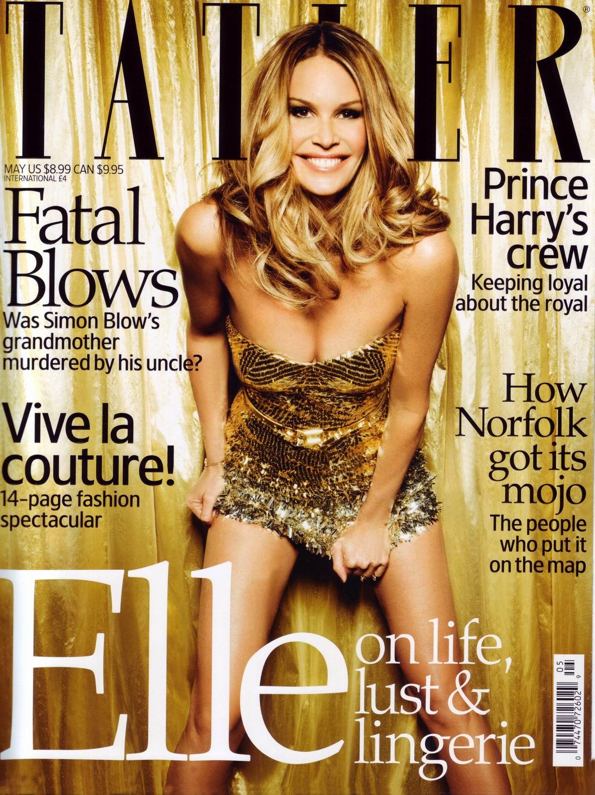 Эль Макферсон (Elle Macpherson) в журнале Tatler, май 2009