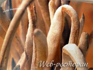 Хлебные палочки - к чему подать
