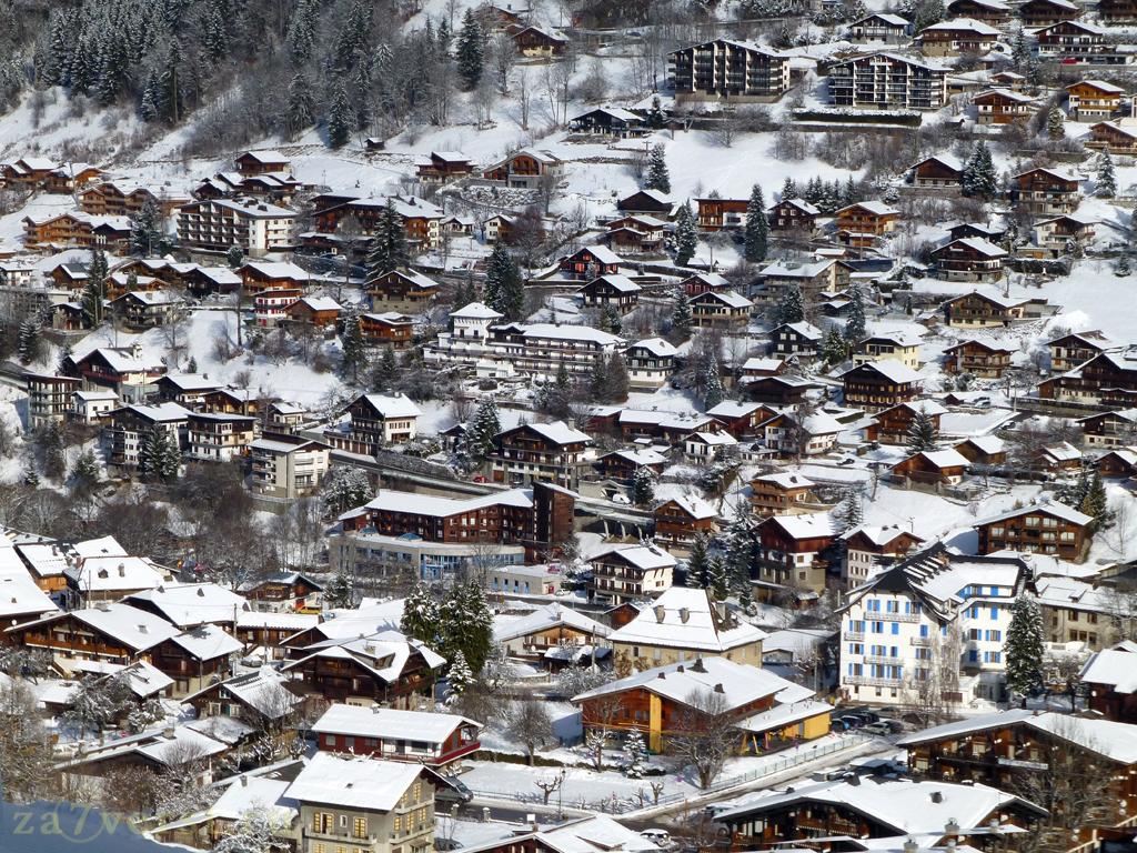 Горно-лыжный курорт Морзин, Франция