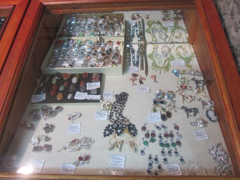 Украшения и сувениры из уральских самоцветов (15.11.2013)