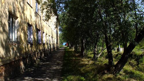 Фото города Инта №5211  Аллея с южной стороны Геологической 1 16.07.2013_12:50