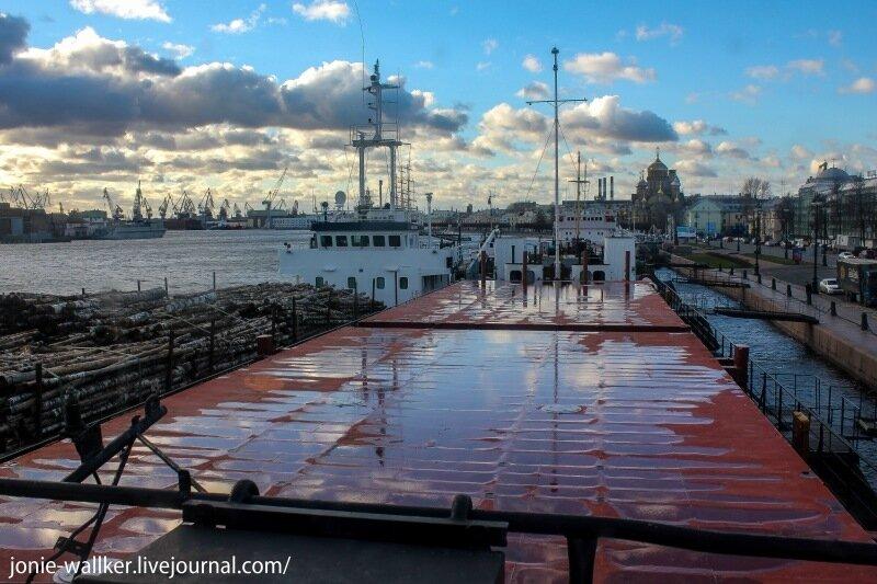 Как устроено речное грузовое судно Арман-2