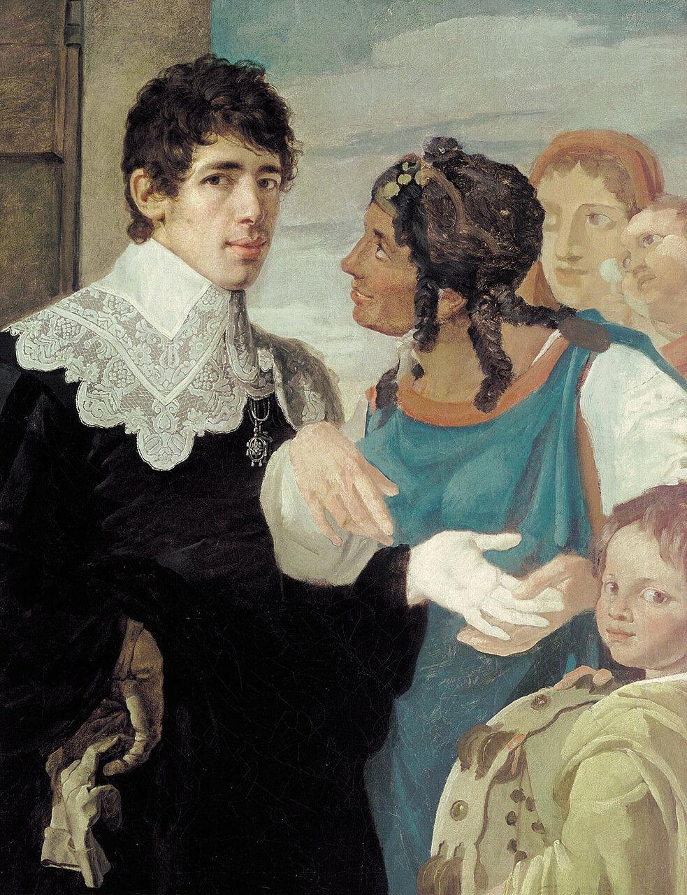 Гадание. Автопортрет. 1805.jpg