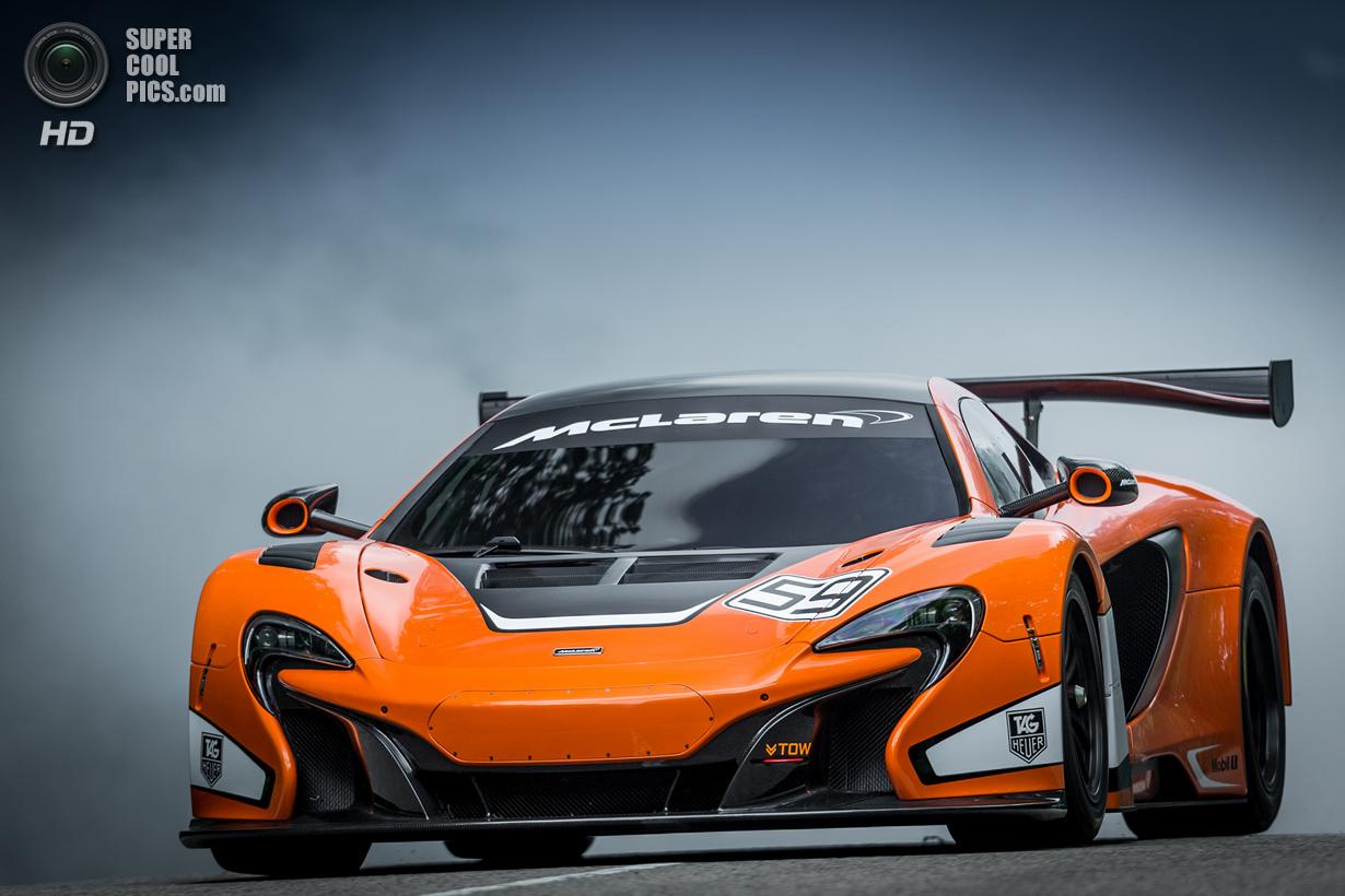 Гудвудский McLaren 650S GT3 (16 фото) (17 фото)
