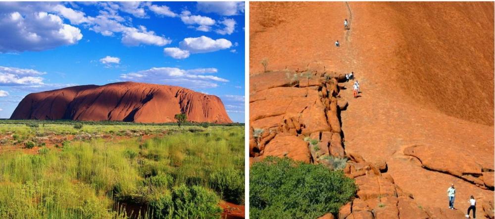 Вэто сложно поверить, ноученые говорят, что Улуру где-то 680 млн лет. Оранжево-коричневая скала ра