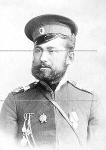 Вахмистр 1-ой Уральской его величества казачей сотни  Николай Чернышов .