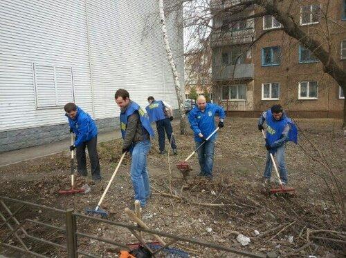 ЛДПР всю неделю проводит  субботники в районах Барнаула