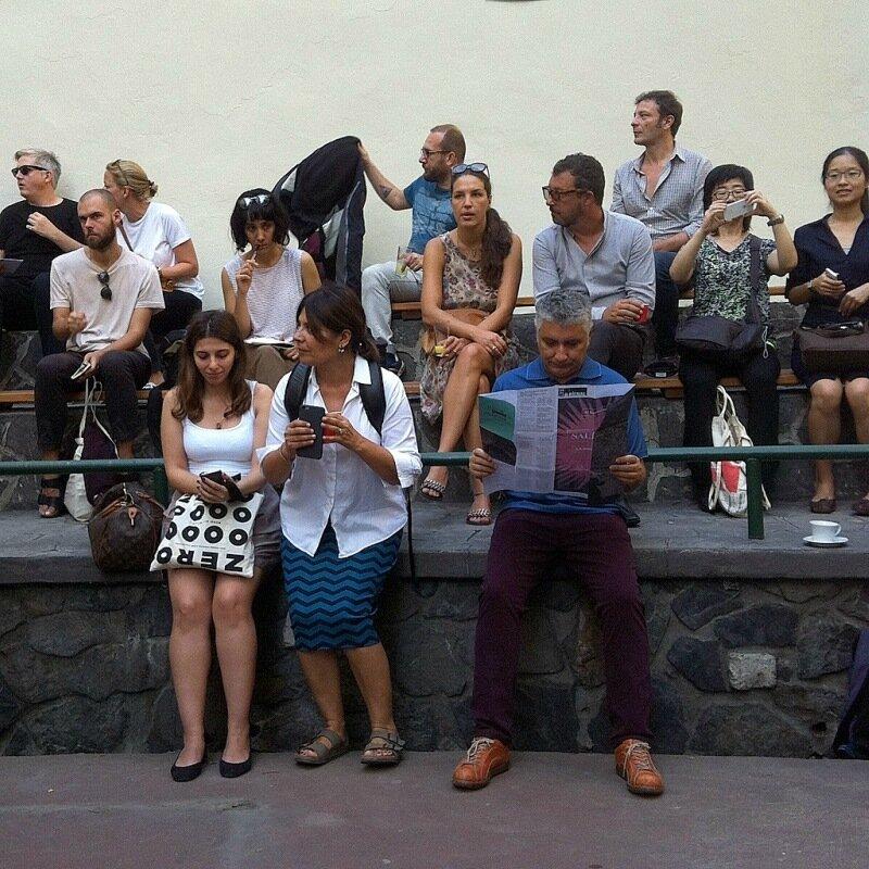 Открытие биеннале в Итальянском лицее
