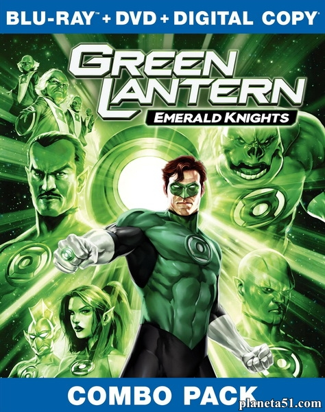 Зеленый Фонарь: Изумрудные рыцари / Green Lantern: Emerald Knights (2011/HDRip)