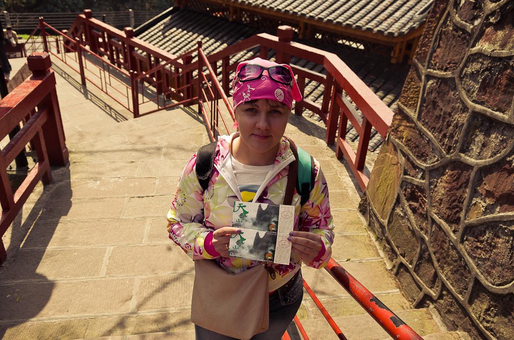 Фотография 12. Билеты на канатную дорогу и на лифт Байлонг (the Bailong Elevator, 百龙电梯) покупаются отдельно. Поездка в природный парк Чжанцзяцзе в Китае.