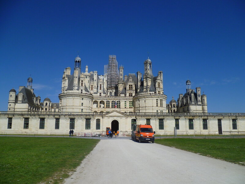 Франция, замок Шамбор (France Castle of Chambord)