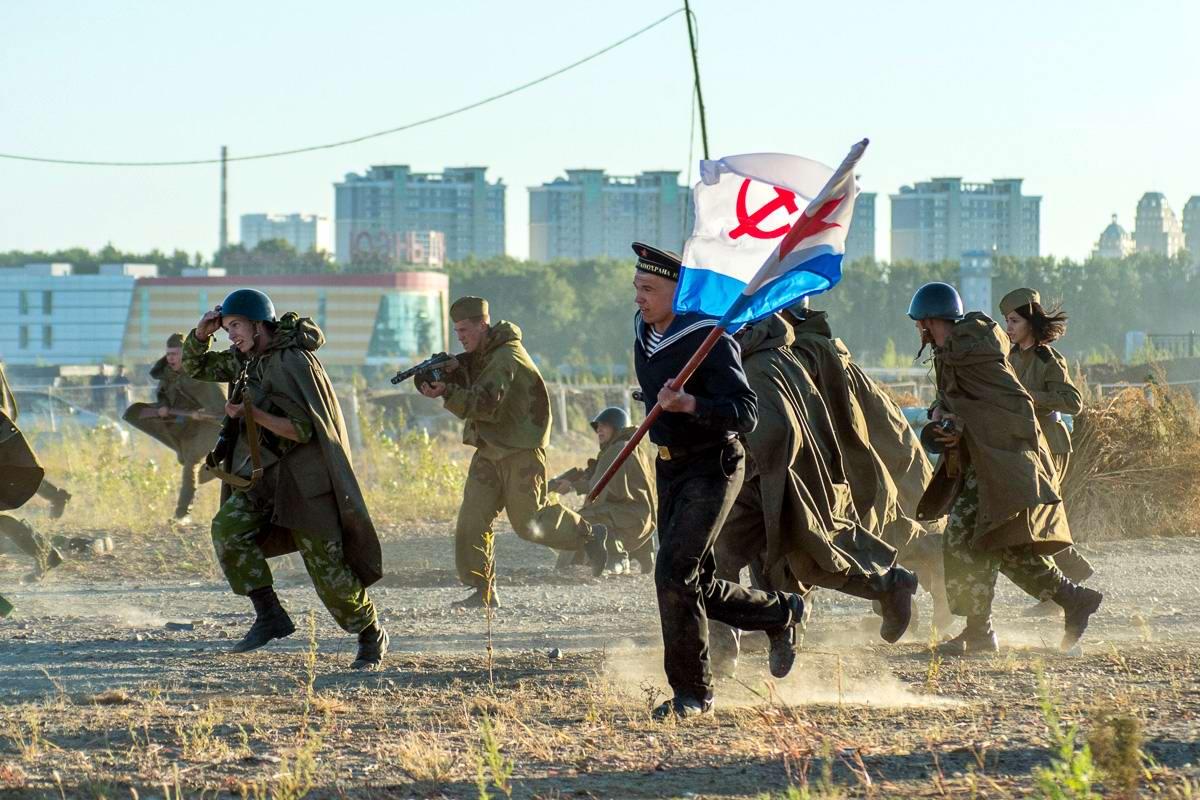 Разгром японцев на берегах Амура: Реконструкция событий времен 2-й мировой войны (20)