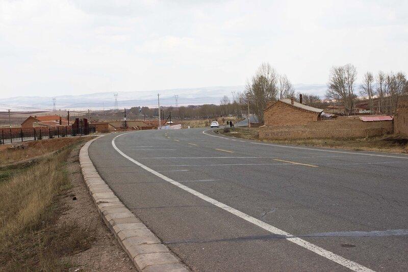 дорога S311 во внутренней монголии, китай
