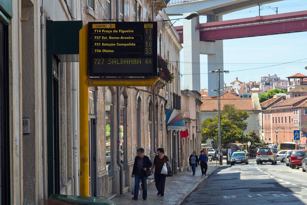 Остановка мечты в Лиссабоне