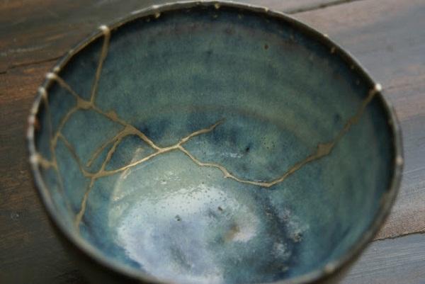 склейка разбитой посуды