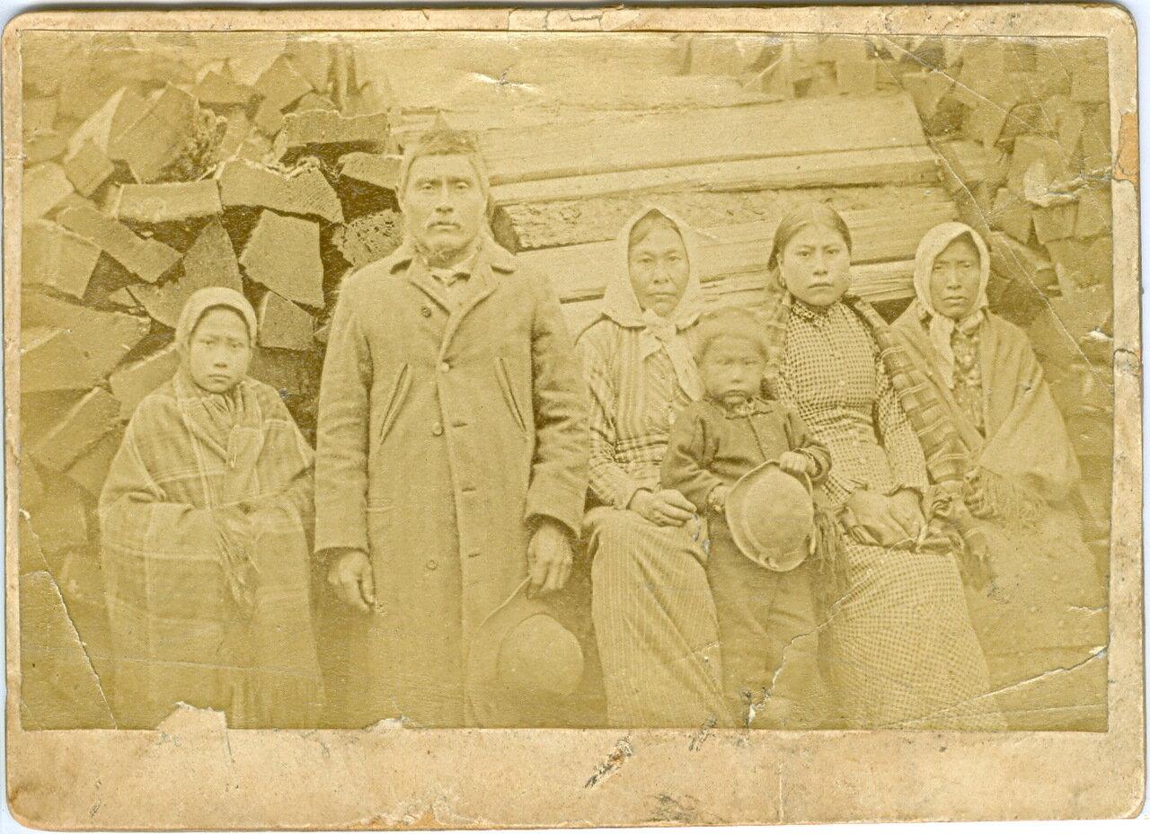 1880. Семья хайда в Лорин Каннери