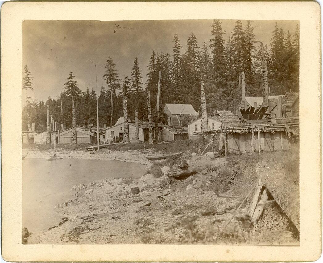 1880. Деревня Хоукан