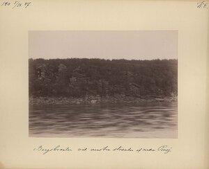 5.9.1887 в 15.20. Скалы у монастыря на реке Поной
