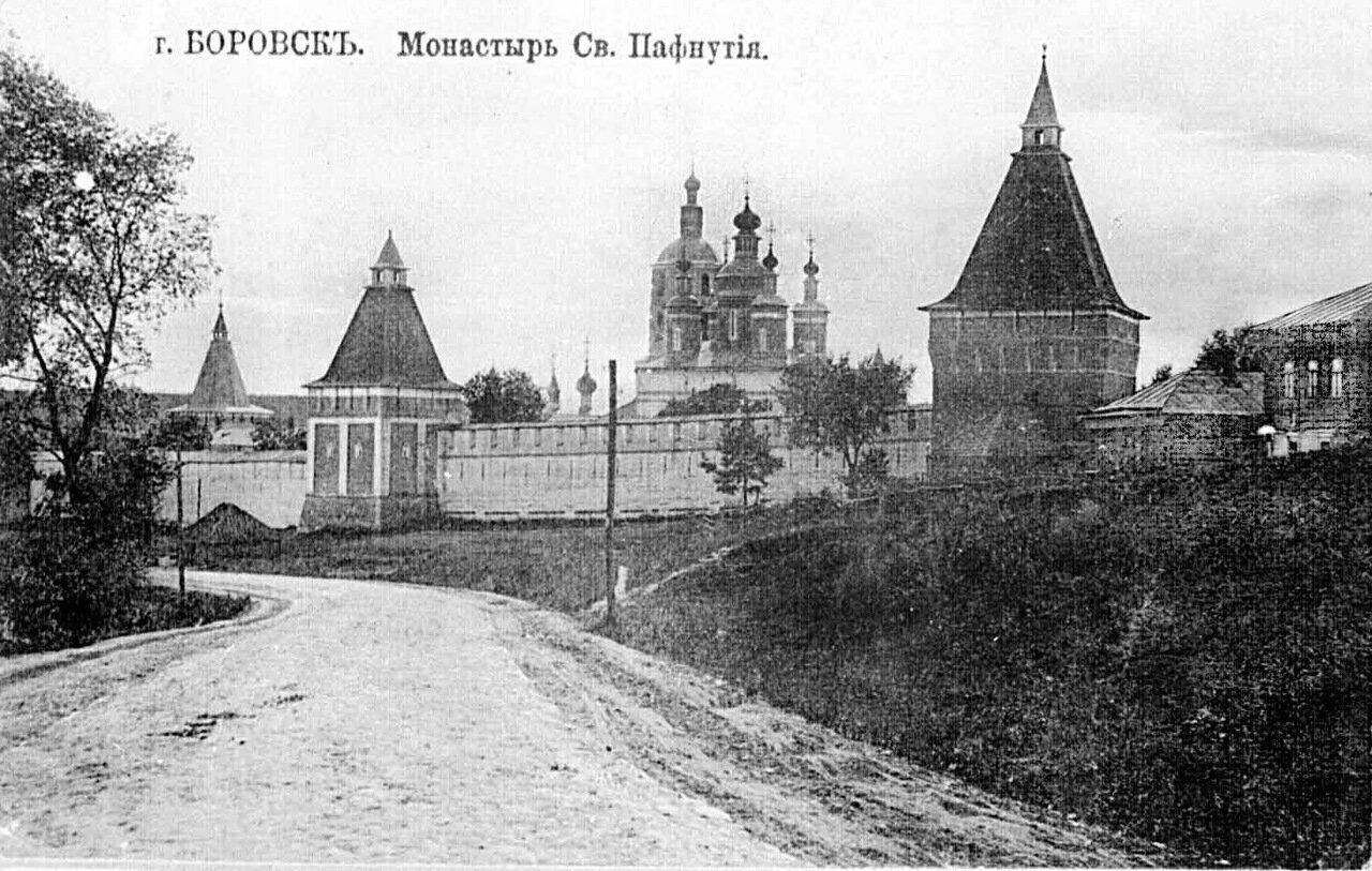 Монастырь св. Пафнутия