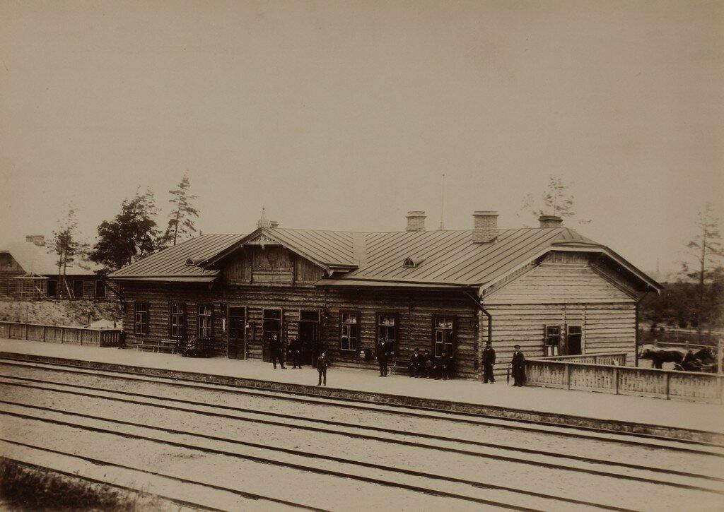 Верро. Железнодорожная станция