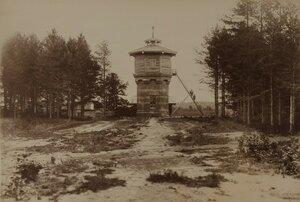 Эльва. Водонапорная башня на станции