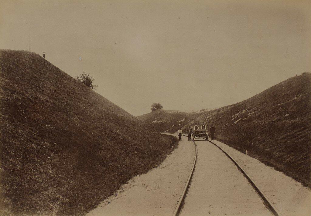 Железная дорога через лощину Амата