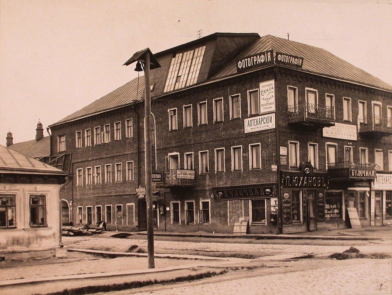 Вид фасада здания купца И.М. Егорова