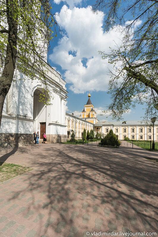 Больничная церковь во имя иконы Божией матери «Всех скорбящих радость». Николо-Угрешский монастырь.