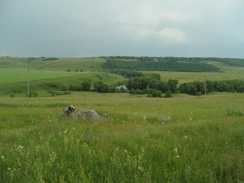долина Красивой Мечи. Вид с Конь-Камня