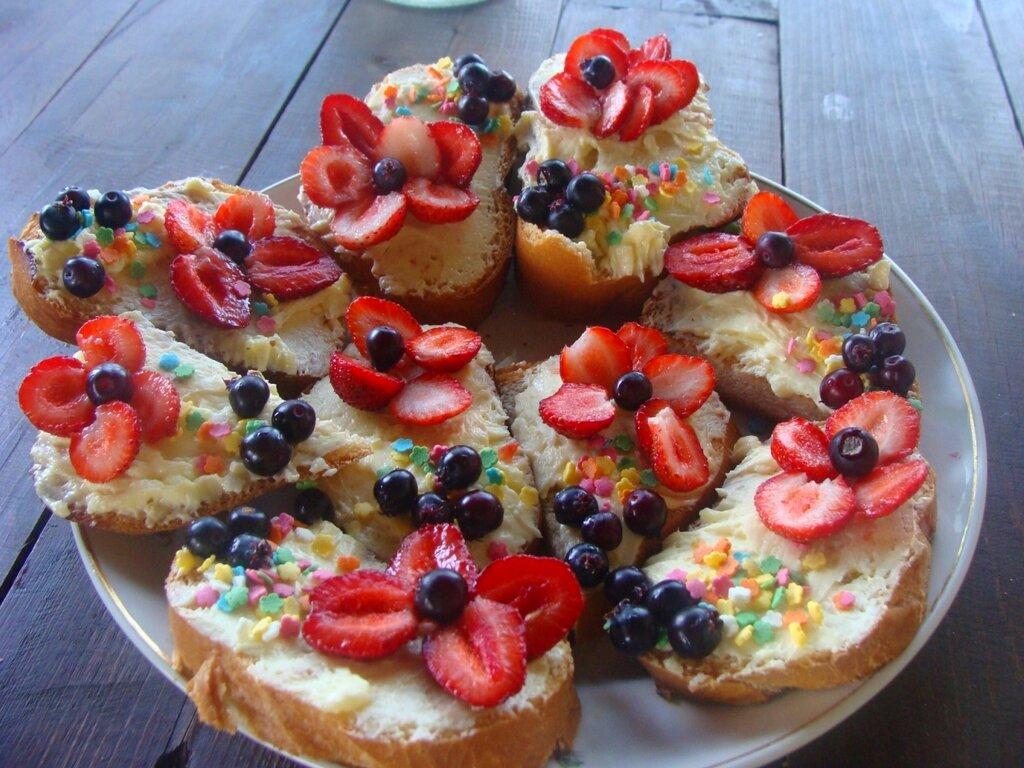 Дачные пирожные.