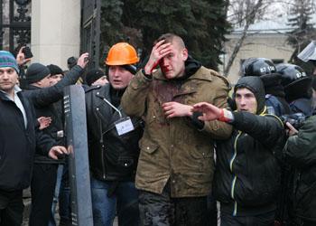 В Харькове расстреляли участников пророссийского митинга