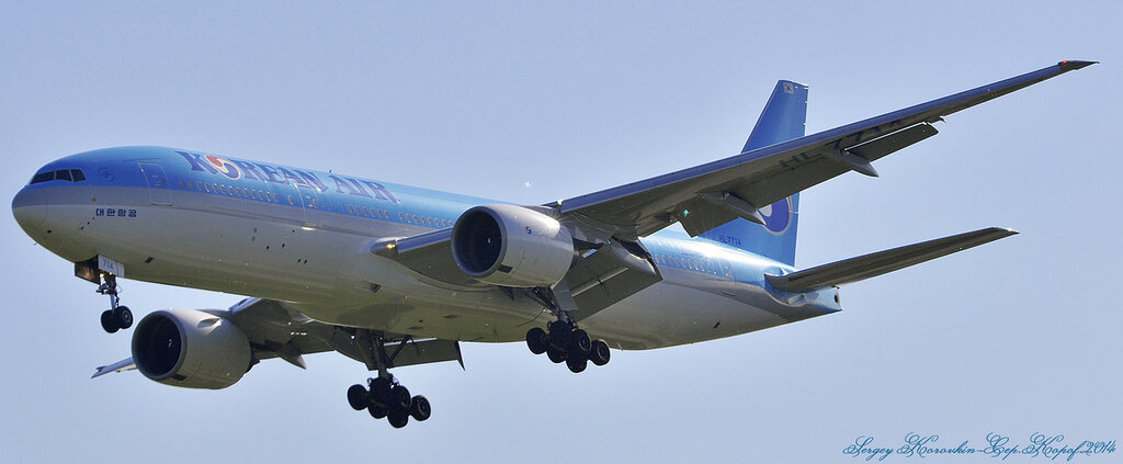 Boeing 777-2B5 Korean Air Lines