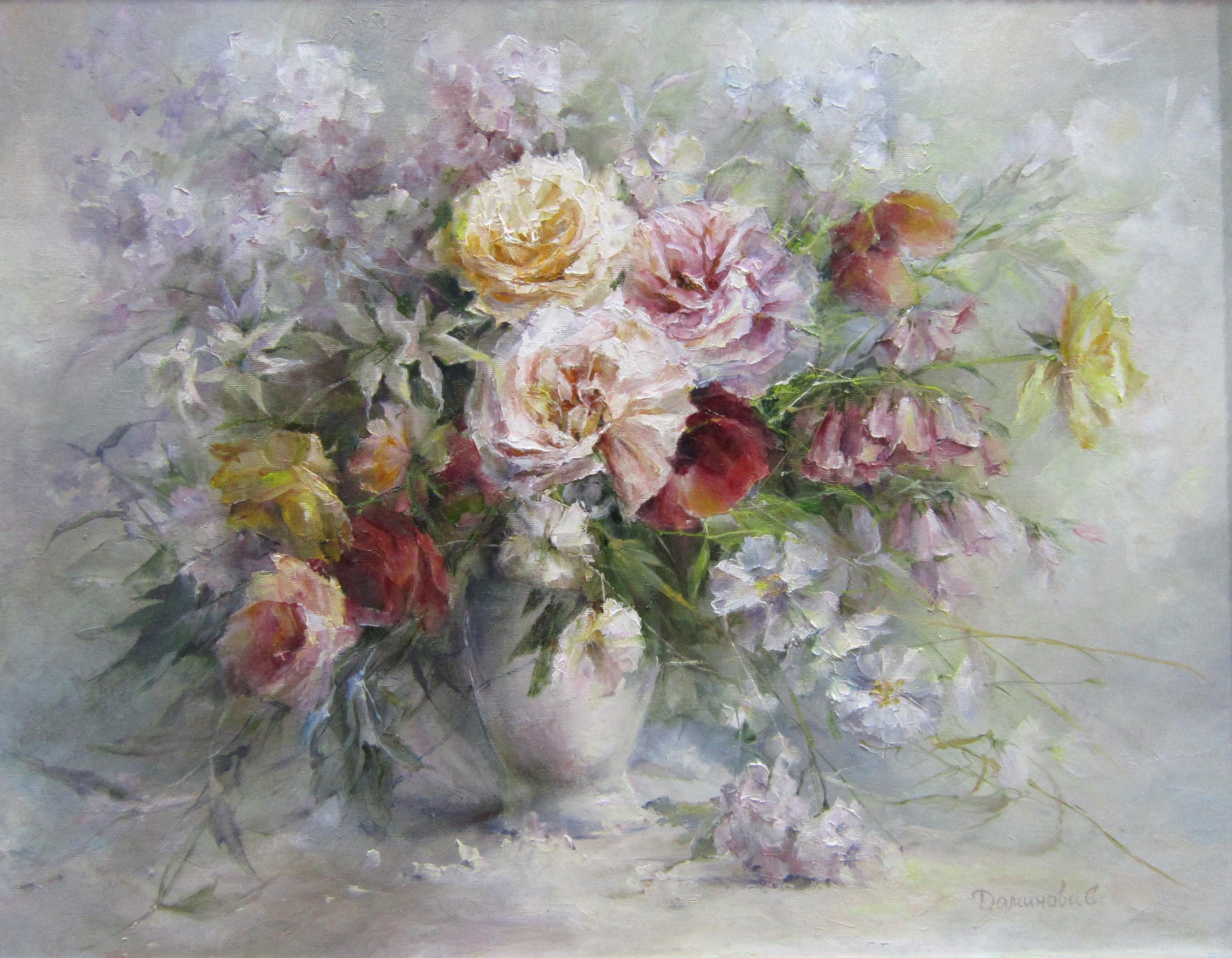 Стелла Даминова. Летние цветы.