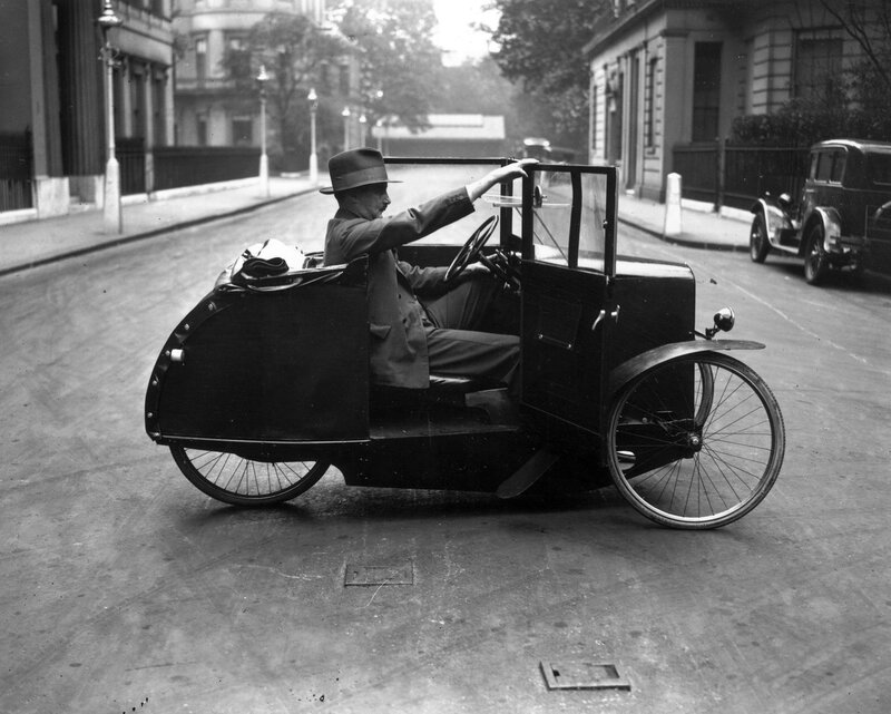 One-Man Car Cycle