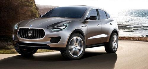 Maserati выпустит внедорожник в следующем году