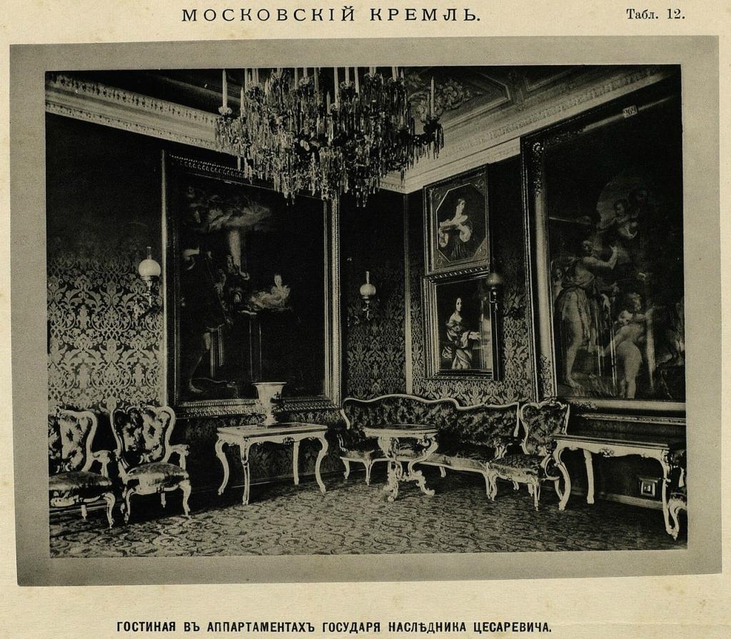 Московский Кремль в конце XIX века