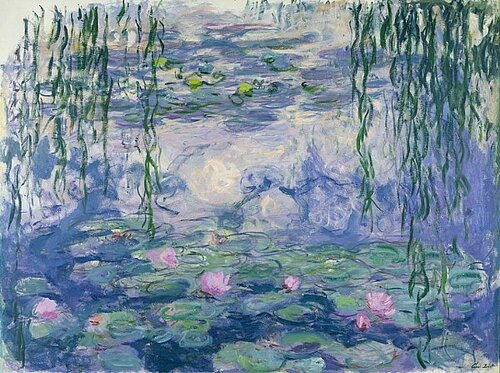 Моне. Водяные лилии. 1916-1920.jpg