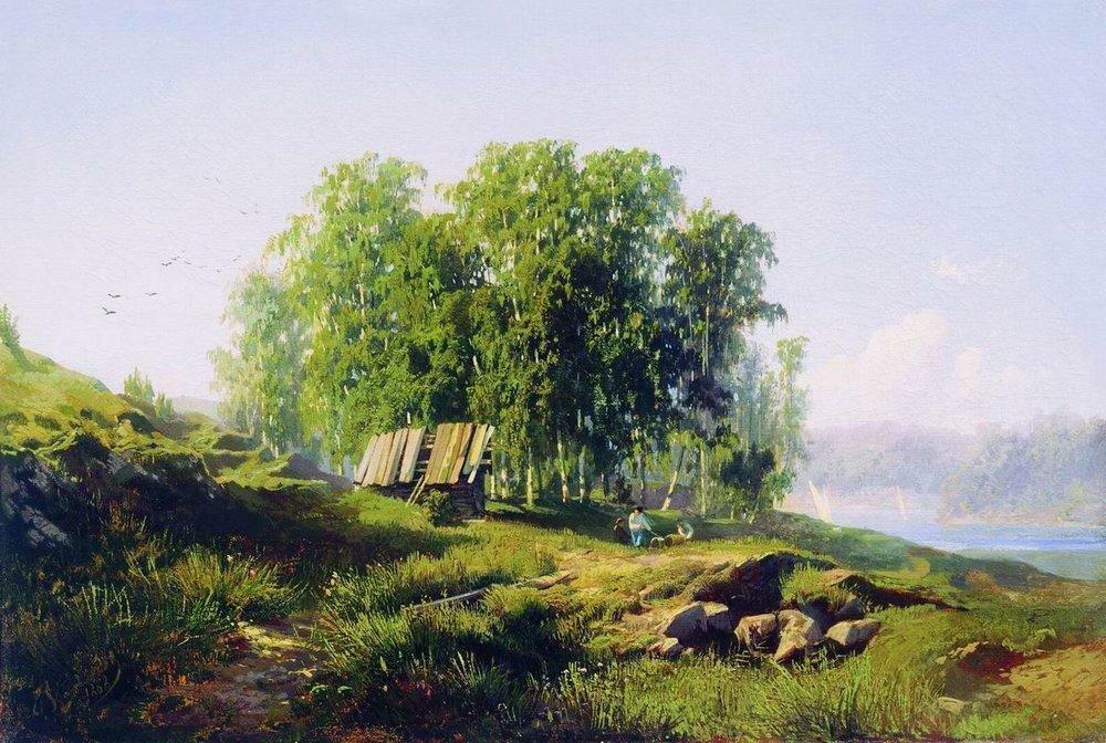 В окрестностях Петербурга. 1868.jpg