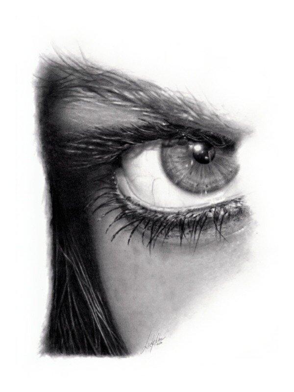 Linda Huber. Реалистичные рисунки простым карандашом