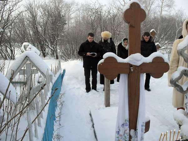 Акафист на могиле Дунюшки Чудиновской (19.05.2014)
