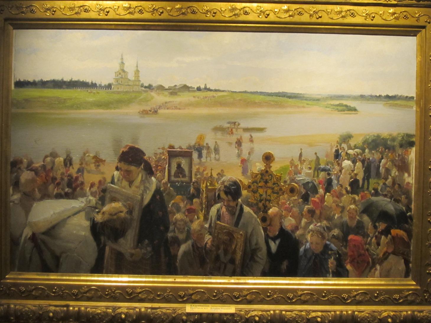 ″Крестный ход″, Прянишников (07.07.2015)