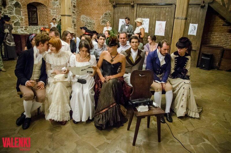 Встреча блогеров в стиле викторианской эпохи XIX века. С VALENKI