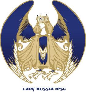 Новый логотип идевиз Lady Russia IPSC
