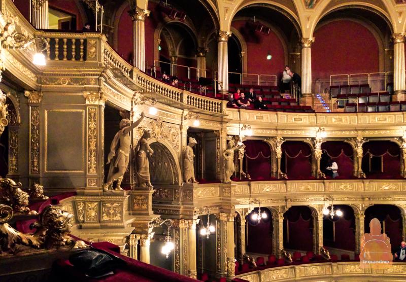 Зрители в опере Будапешта