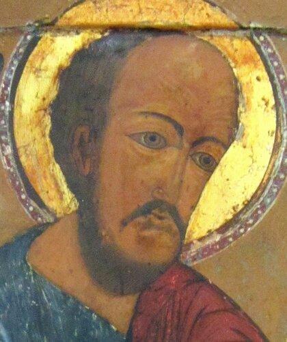 Святой Пророк Моисей. Икона конца 17-начала 18 века.