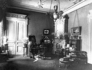 Часть гостиной в особняке И.Д.Бонштедта.