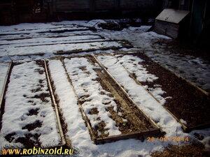 огород после зимы