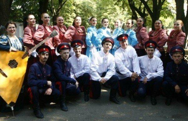 Выступление азовских казаков в Сербии прошли на ура!